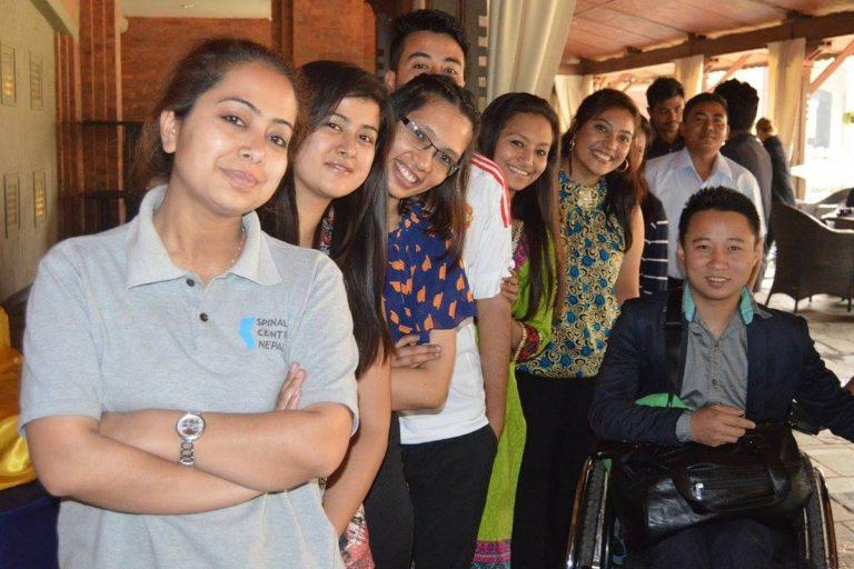Mandira at Gokarna team building exercise b