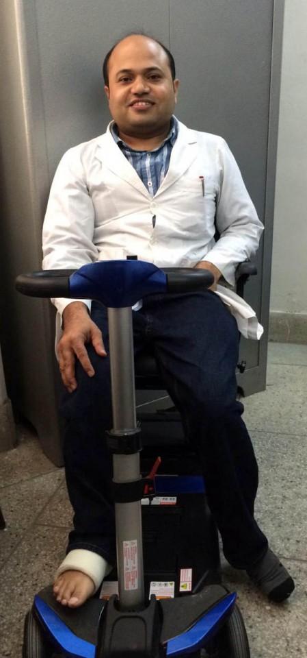 Raju returns to work