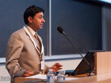 Dr Prakash delivers talk at Bethune conference